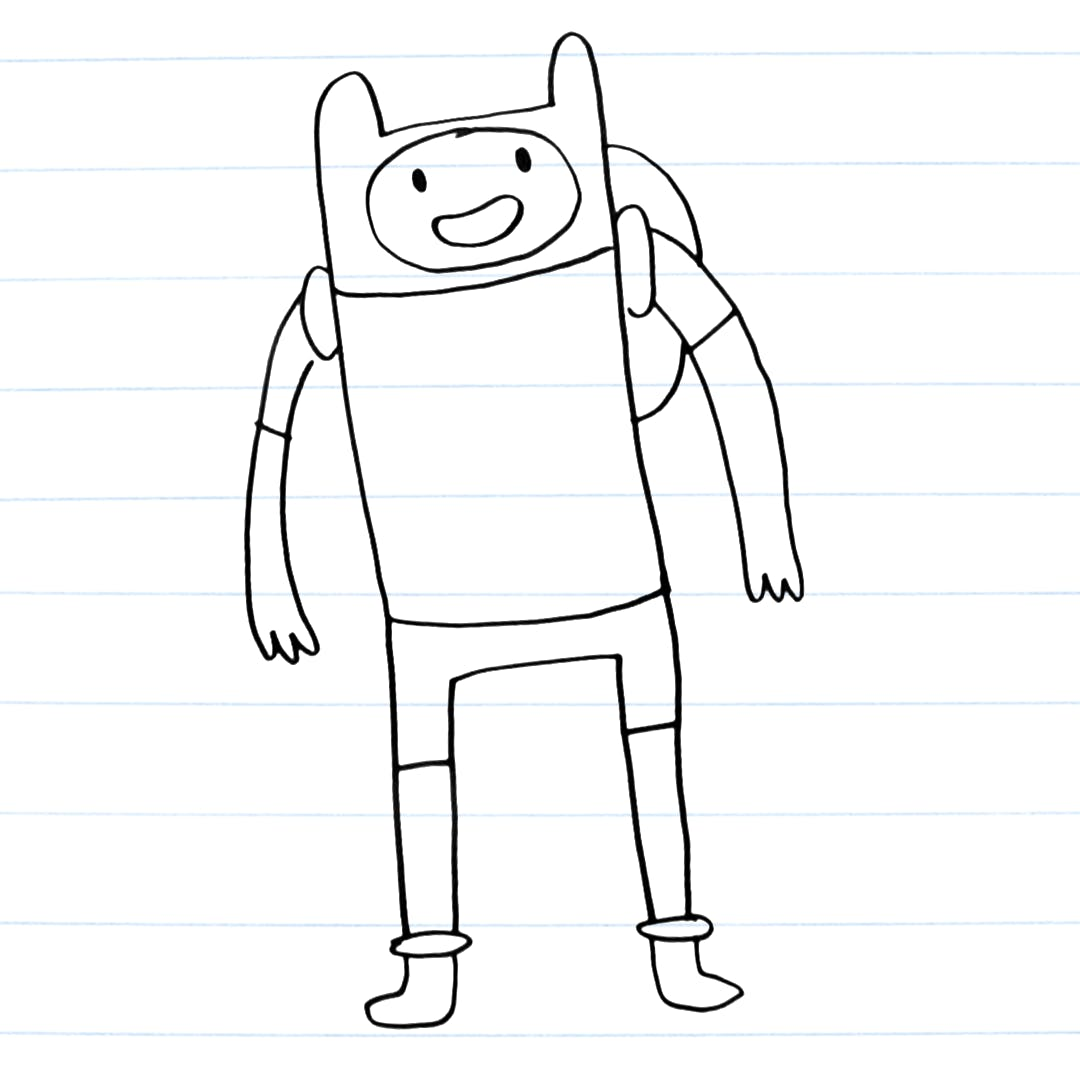 Drawing of Finn