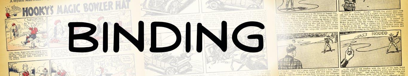 Beano No. 1 - Binding