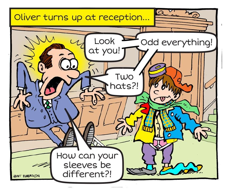 Oliver Oddsocks