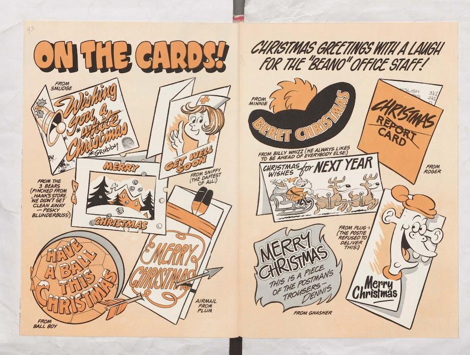 Season's greetings - Beano Book 1983 Annual