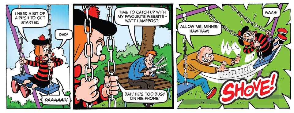 Inside Beano no. 3985! Minnie the Minx