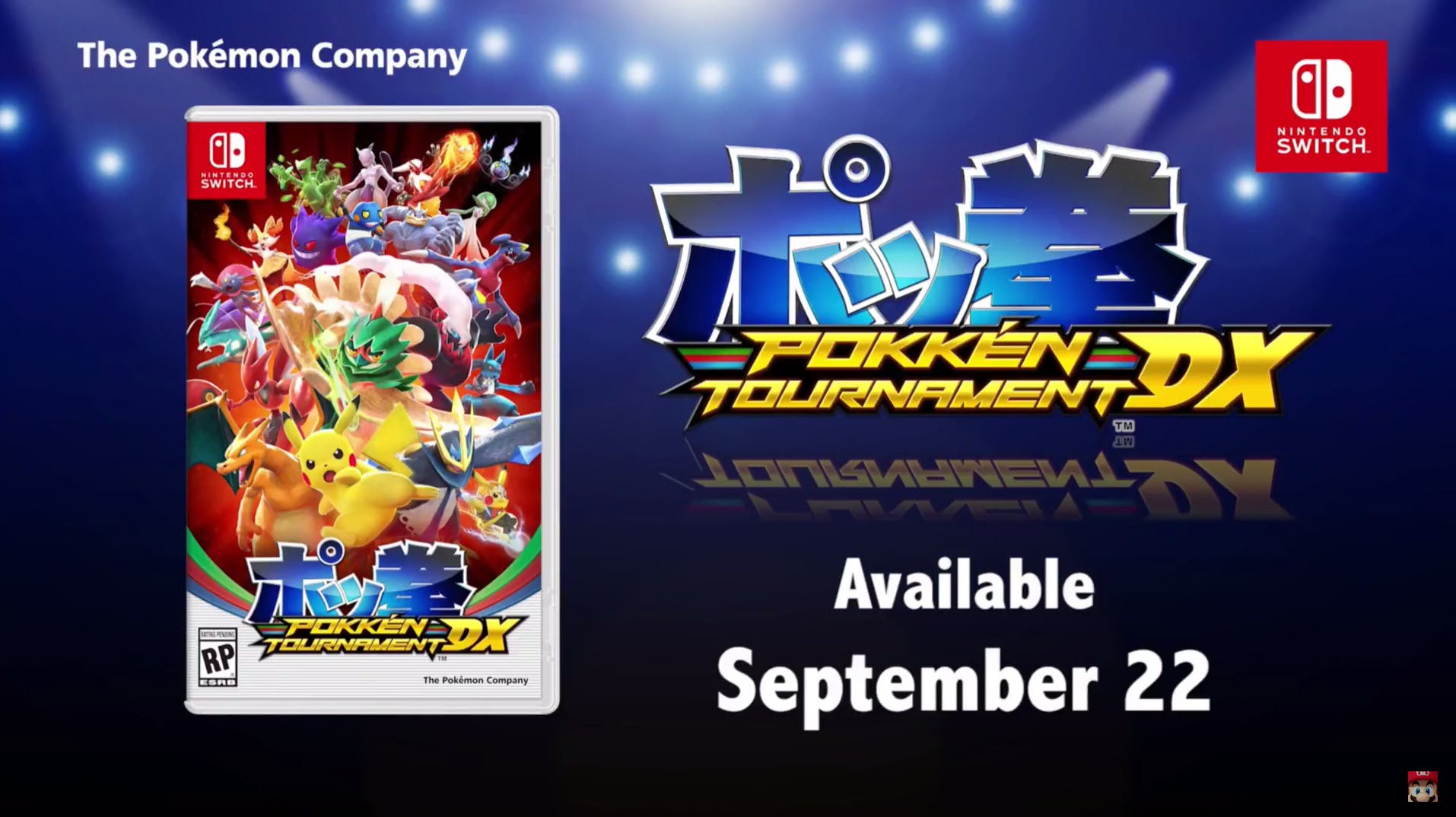 Pokken Tournament announced!
