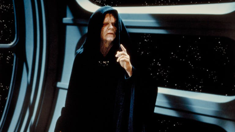 Emperor Palpatine in A New Hope
