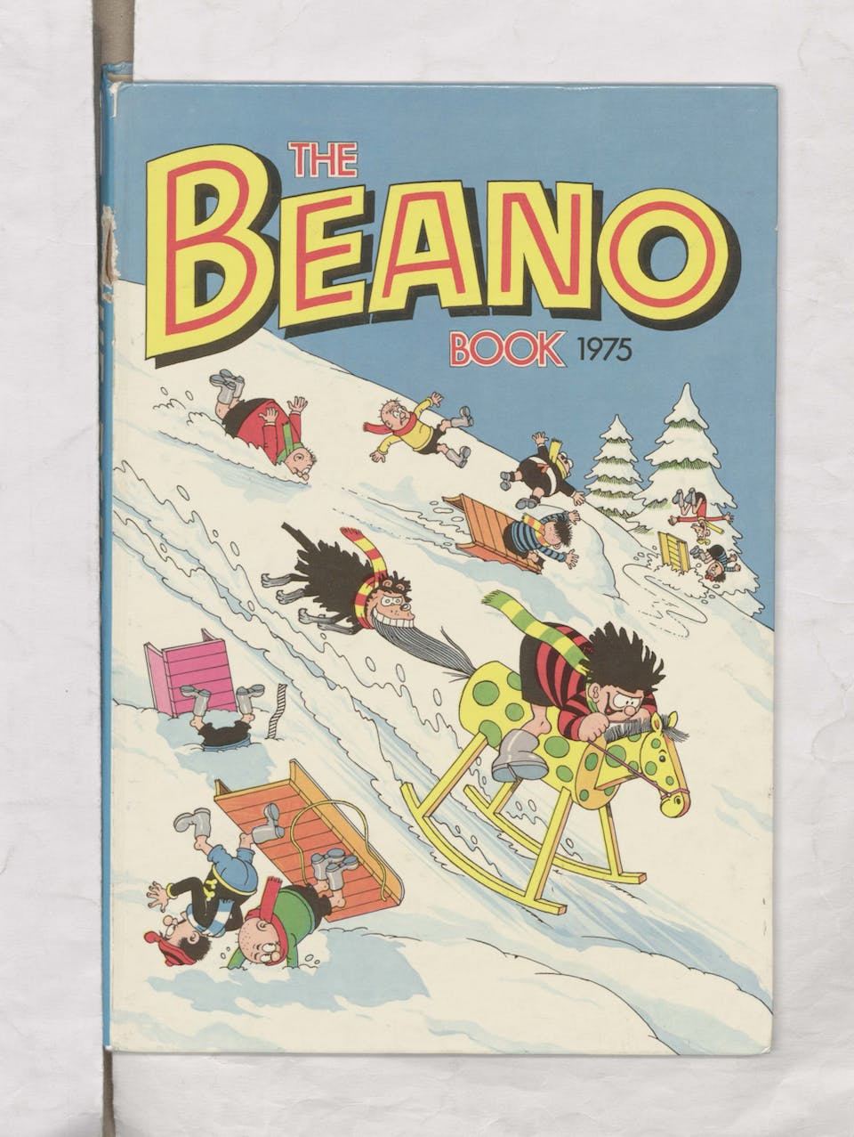 Beano Book 1975 - Snow Covered