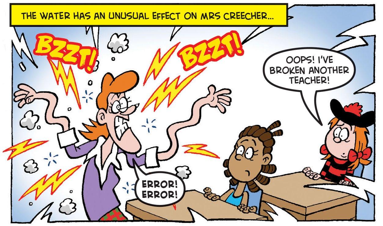 Minnie the Minx, Mrs Creecher, Beano