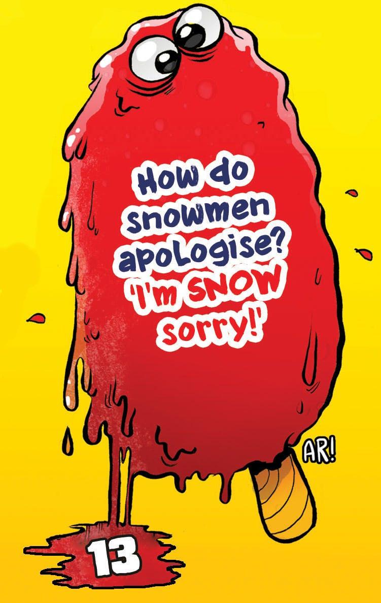 Beano snowman joke