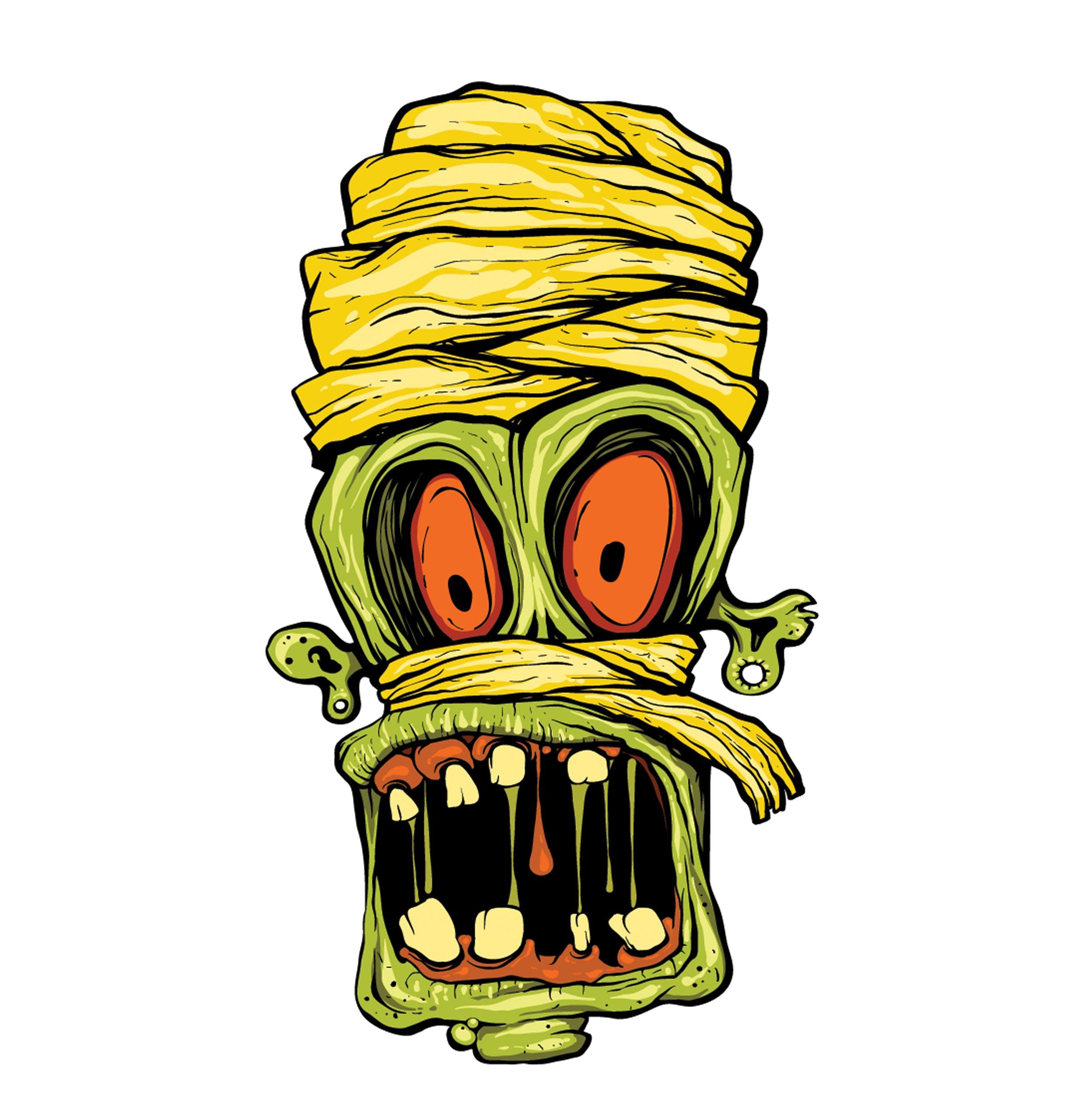 Undead funny Beano zombie