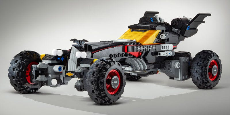 Theres A Life Size Lego Batmobile Film Tv Toys Gadgets On