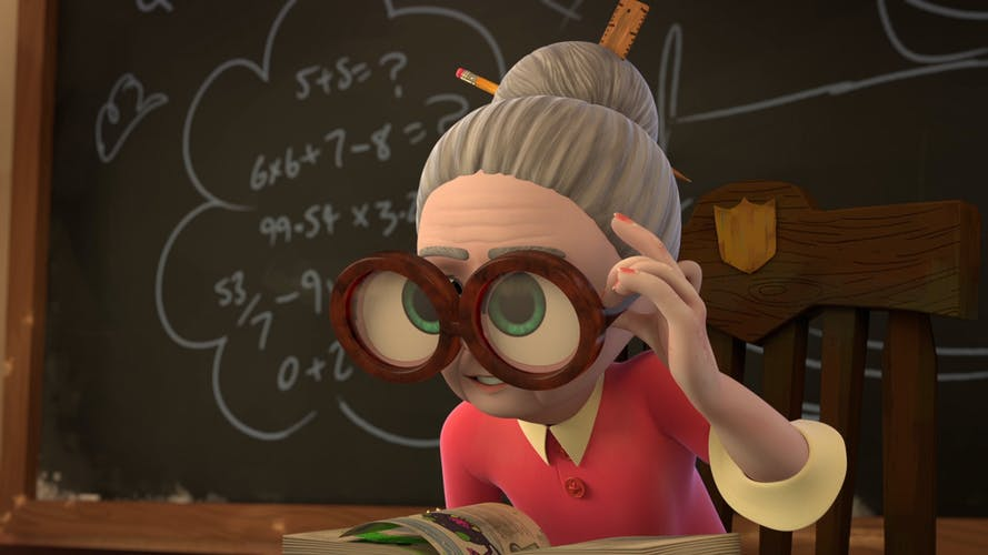 Ms Creecher's Rule 71b – No daydreaming in class!