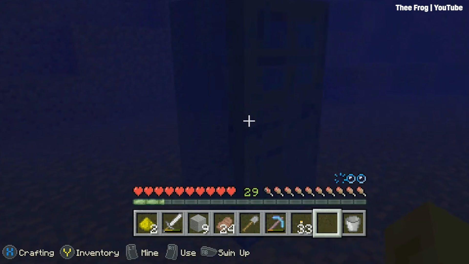 Minecraft breathe under water