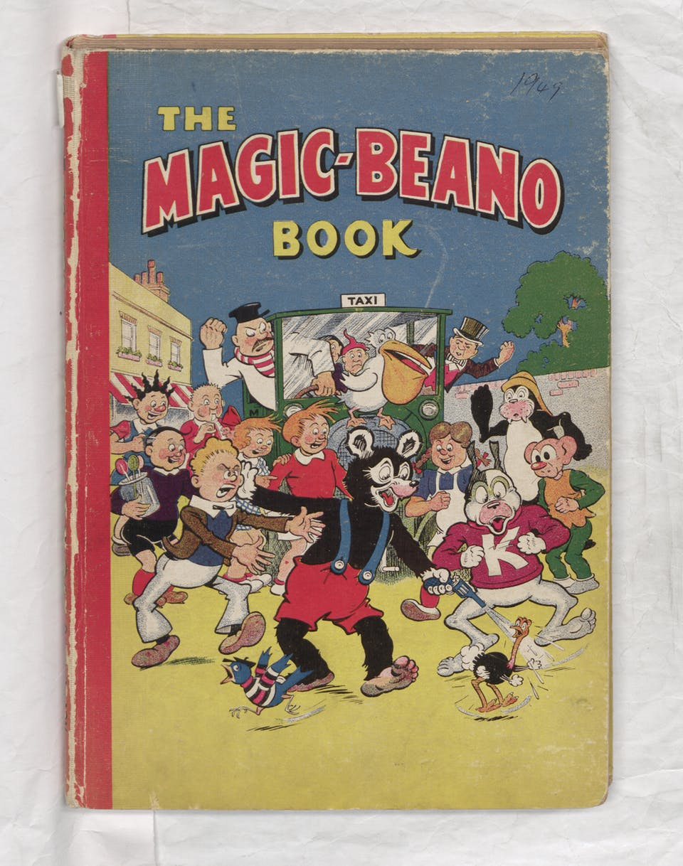 1949 Magic-Beano Book - Annual Cover