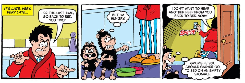 Inside Beano no. 4060 - Gnasher and Gnipper
