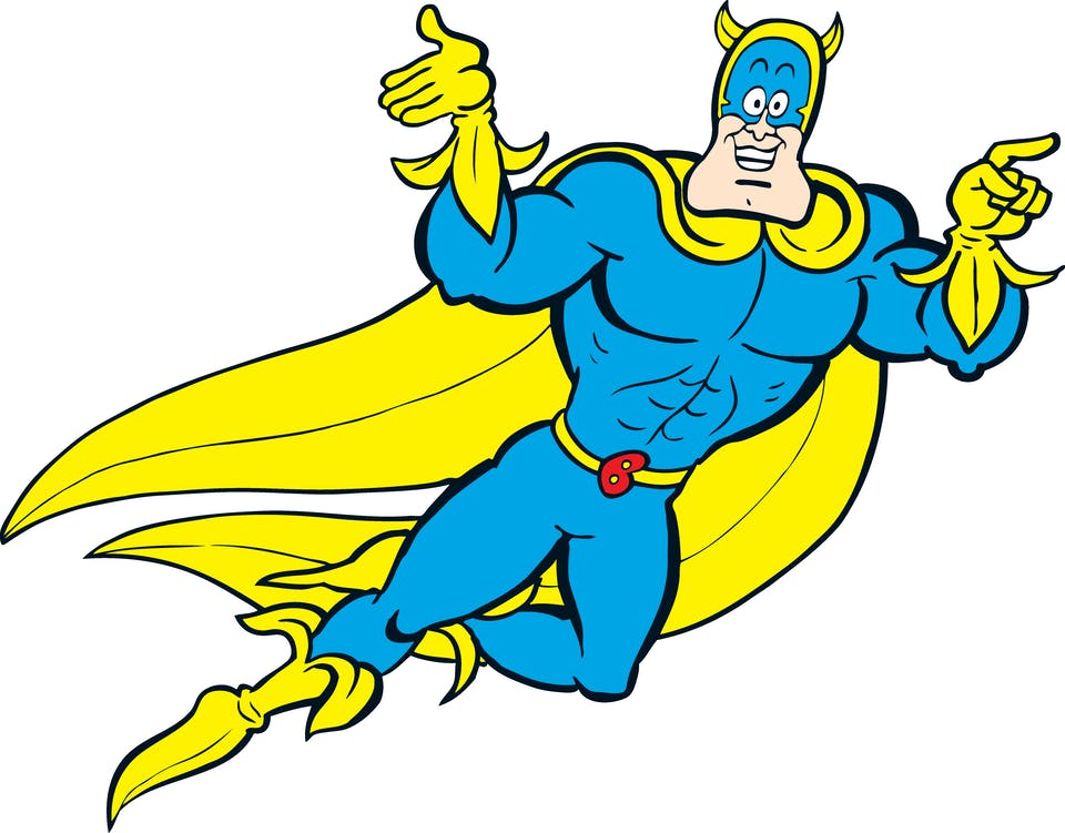 Bananaman needs some 'nana-knowledge