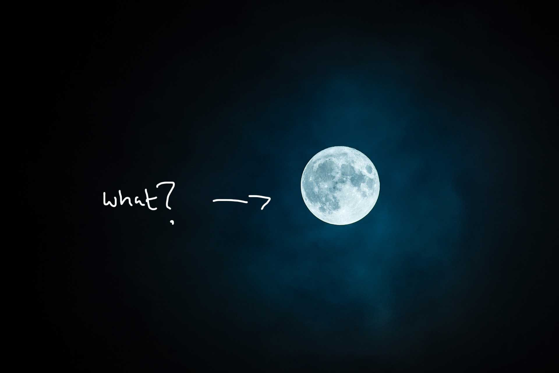 What mystery does the moon hold?