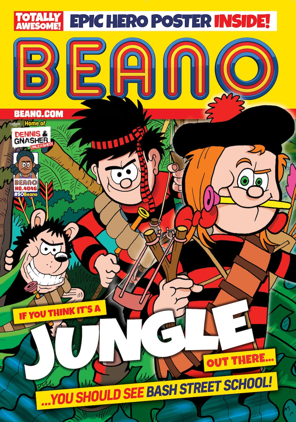 Inside Beano Issue 4046 - Welcome To The Jungle!