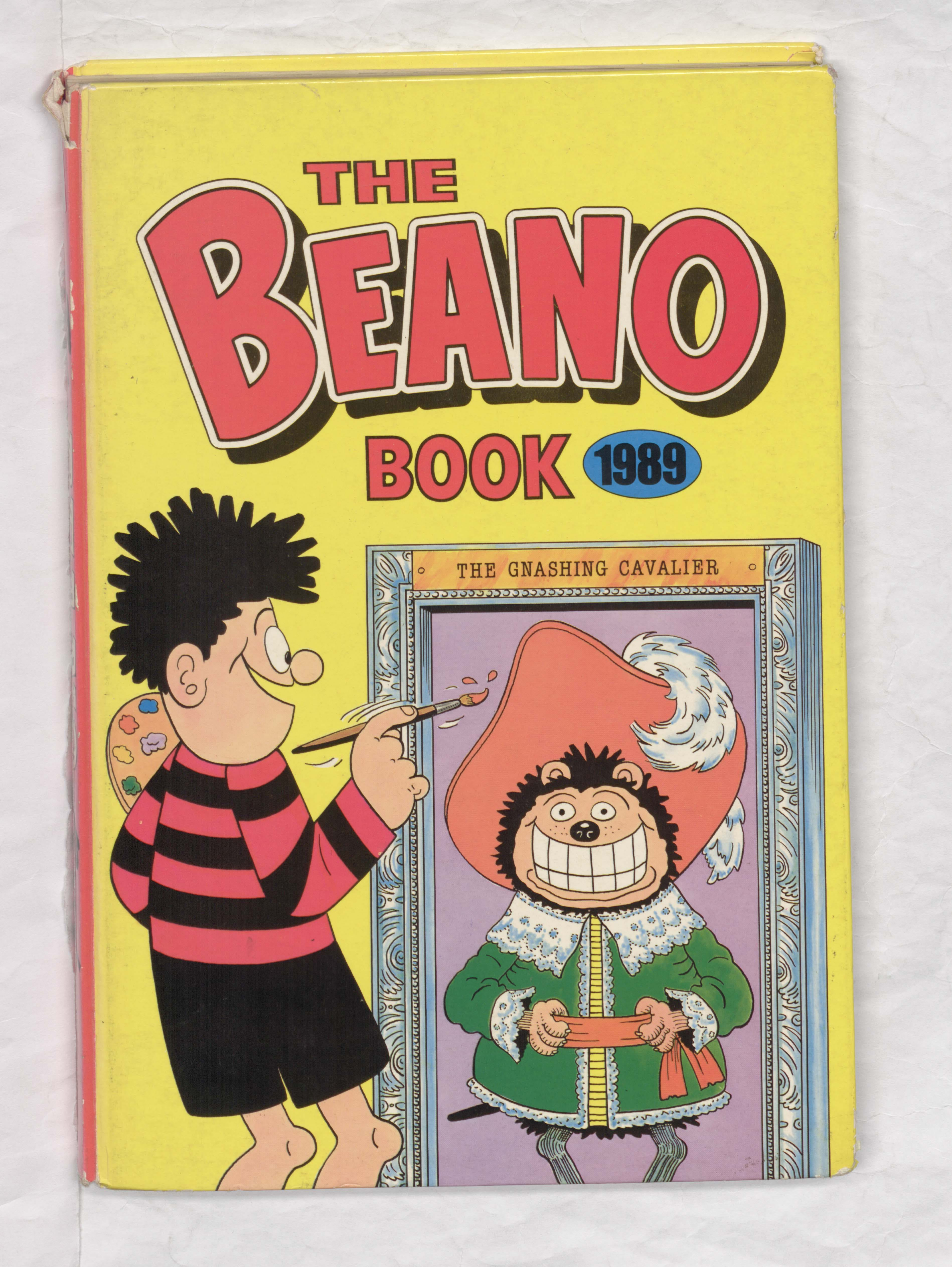 Beano Book 1989 Annual Cover