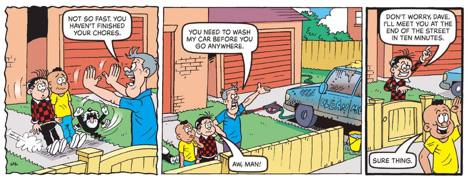 Beano no 4003 - Rodger the Dodger