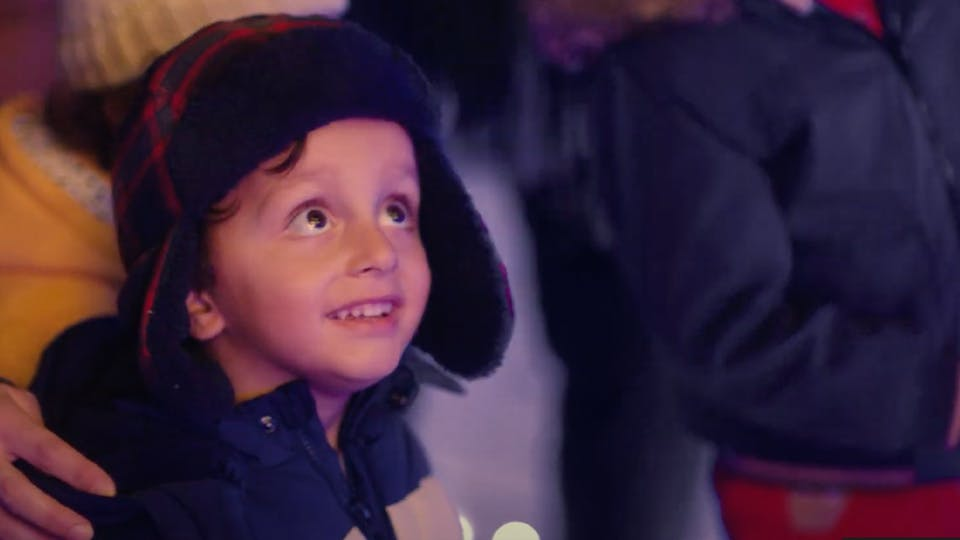 A child in Asda's new advert