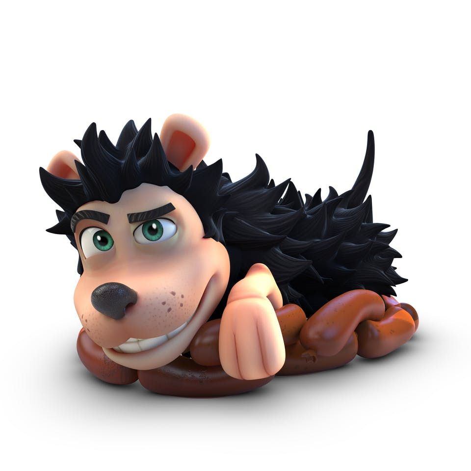 Gnasher from Dennis and Gnasher Unleashed