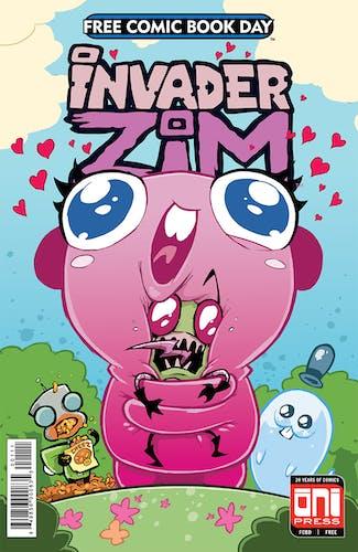 Invader Zim cover