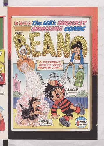 The UK's Sweetest Smelling Comic - Beano Book 2002