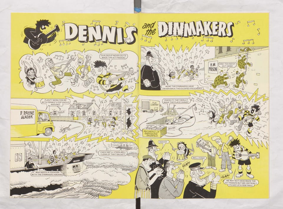 Dennis and the Dinmakers - Beano Book 1982 Annual