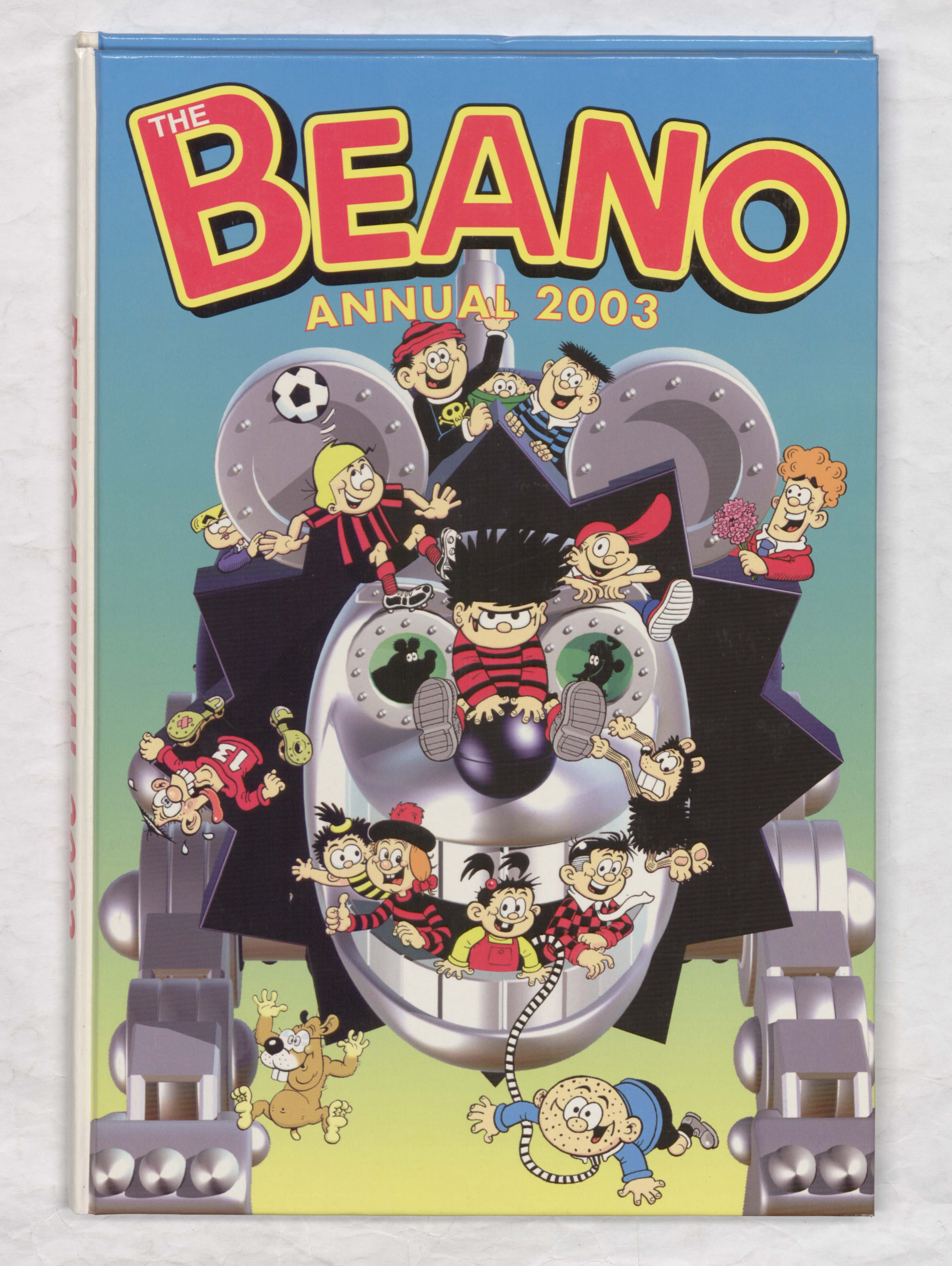 Robo-Gnasher - Beano Book 2003 Annual