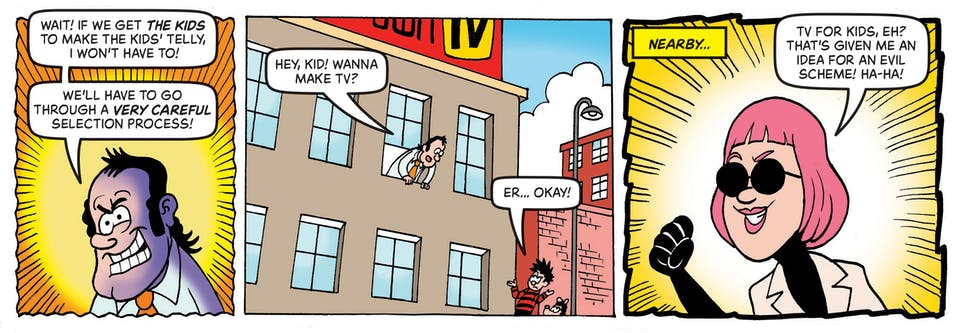 Inside Beano no. 4044  - Dennis & Gnasher