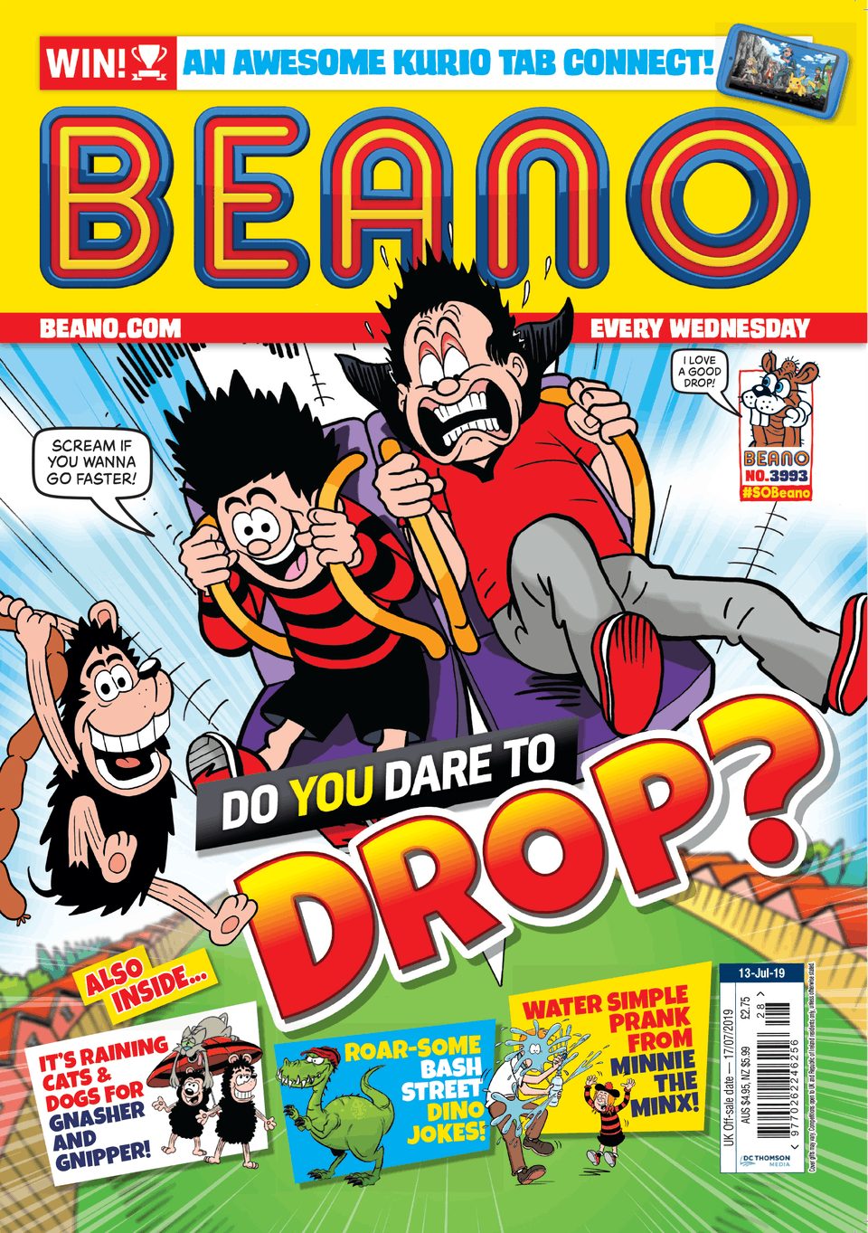 Inside Beano no. 3993 - Do You Dare to Drop?
