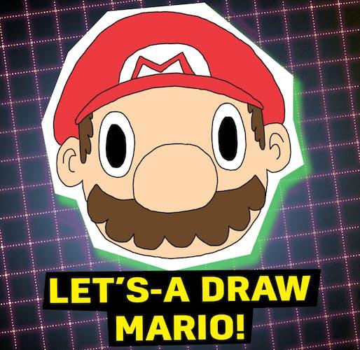 Let's draw Mario