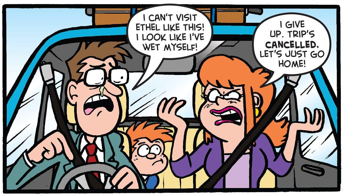 tricky dicky car