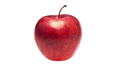 A red apple