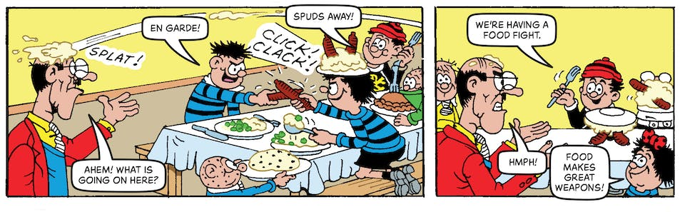 Inside Beano no. 4055 - The Bash Street Kids