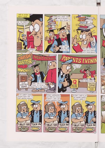 Teacher and the Head - Parents Evening - Beano Annual 2007