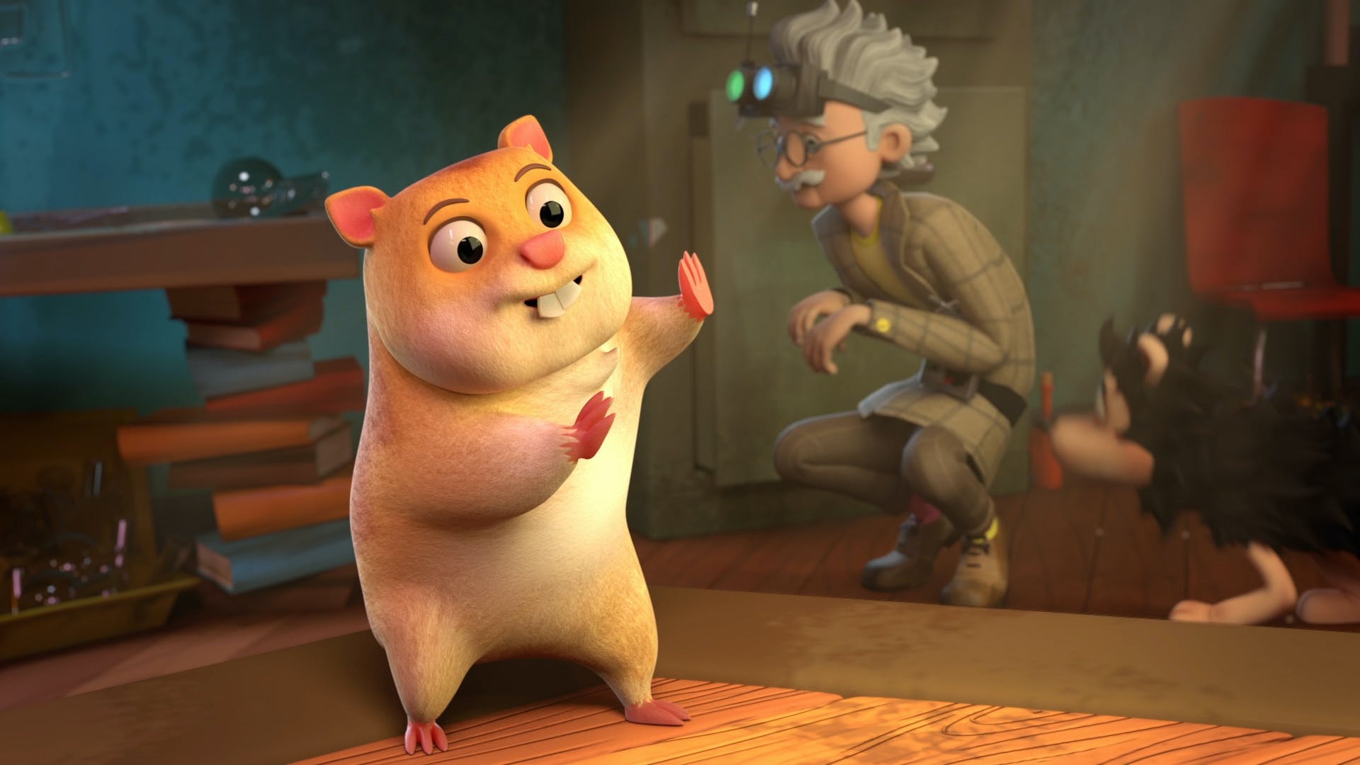 Professor Von Screwtop's Hamster