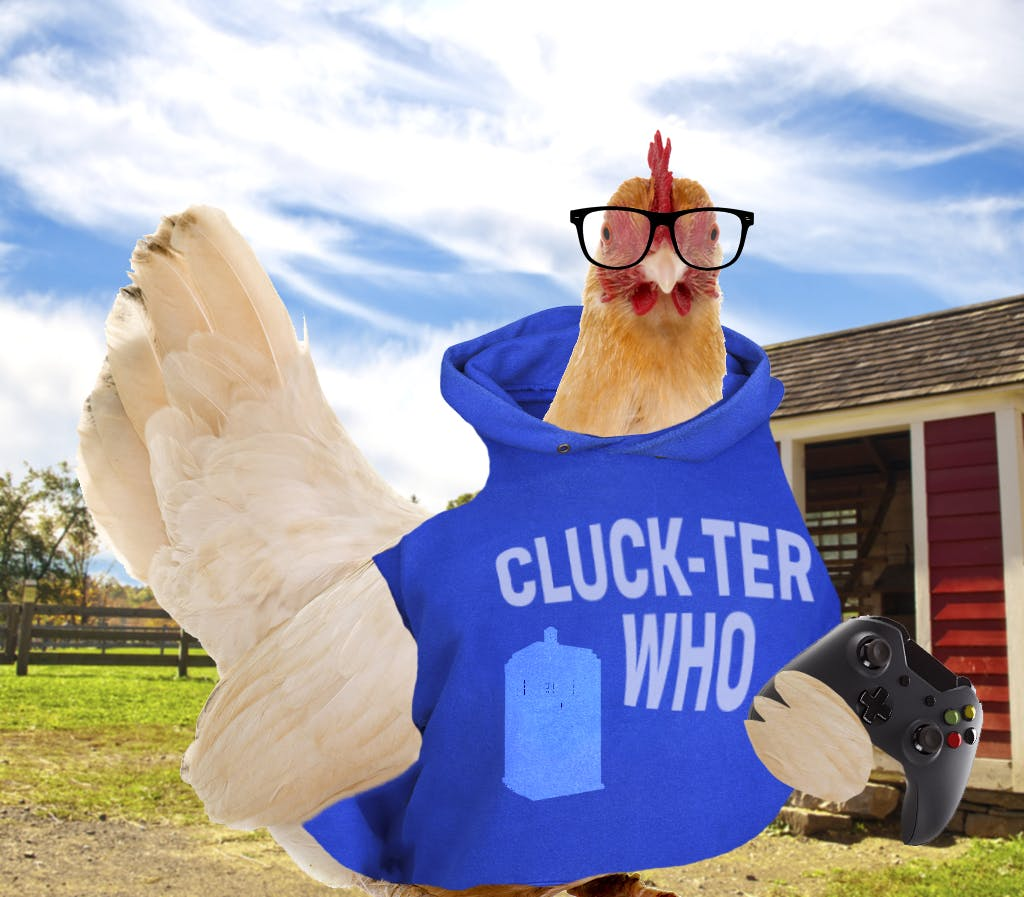 nerdy chicken