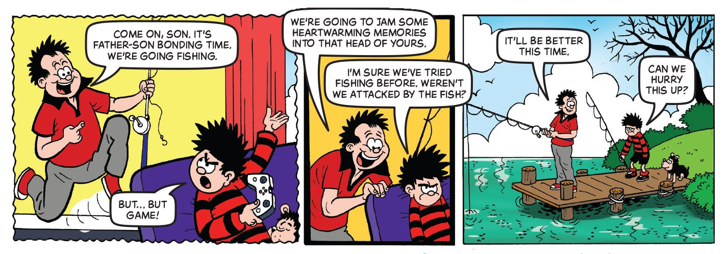Inside Beano 3975 - Dennis the Menace