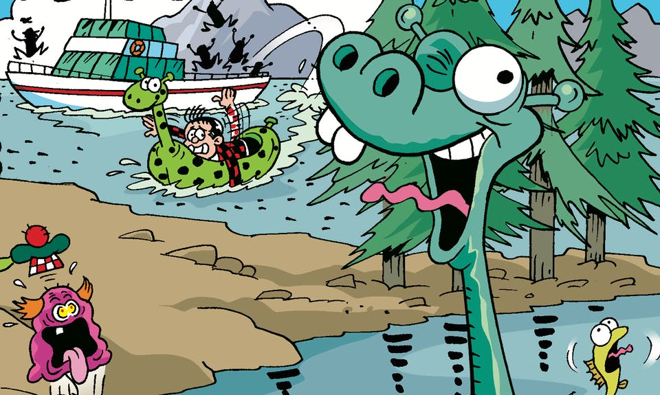 Roger has a run in with the Nessie