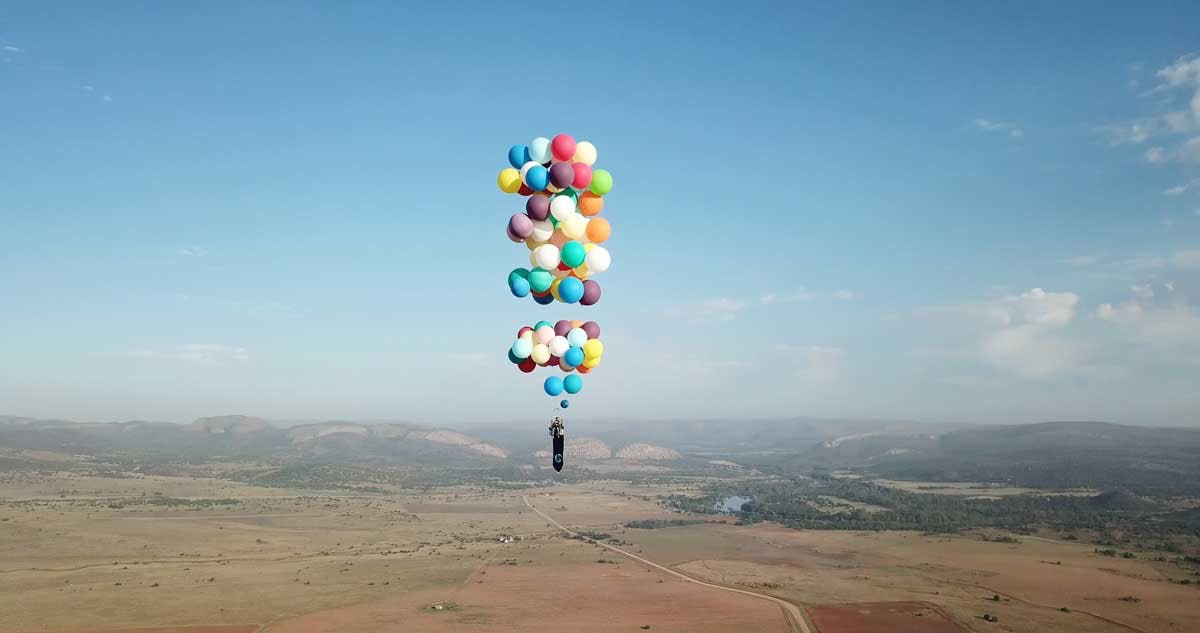 The Adventurists' Balloon Journey