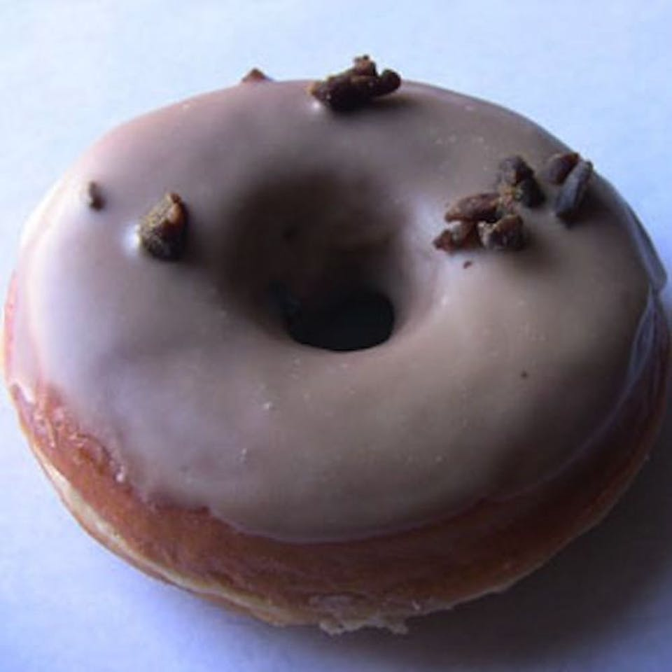 Black licorice donut