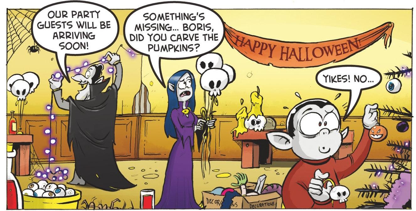 Beano comic strip