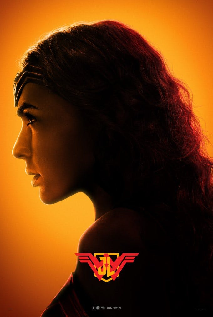 Wonder Woman poster for Justice League
