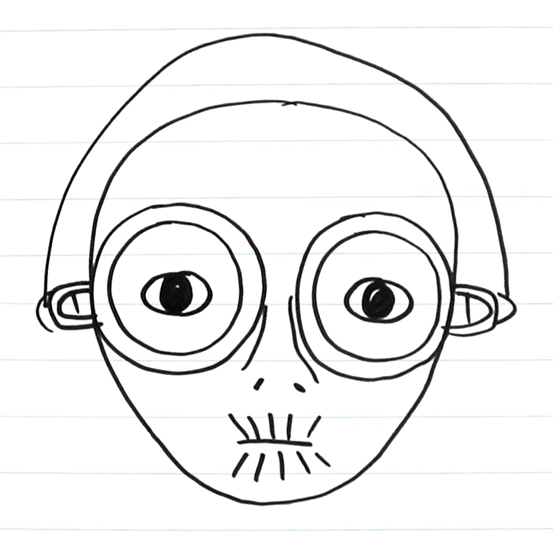 Drawing of Maz Kanata