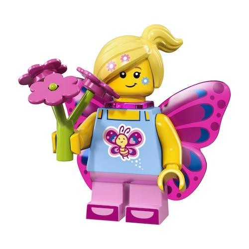 LEGO minifgs series 17 Butterfly Girl