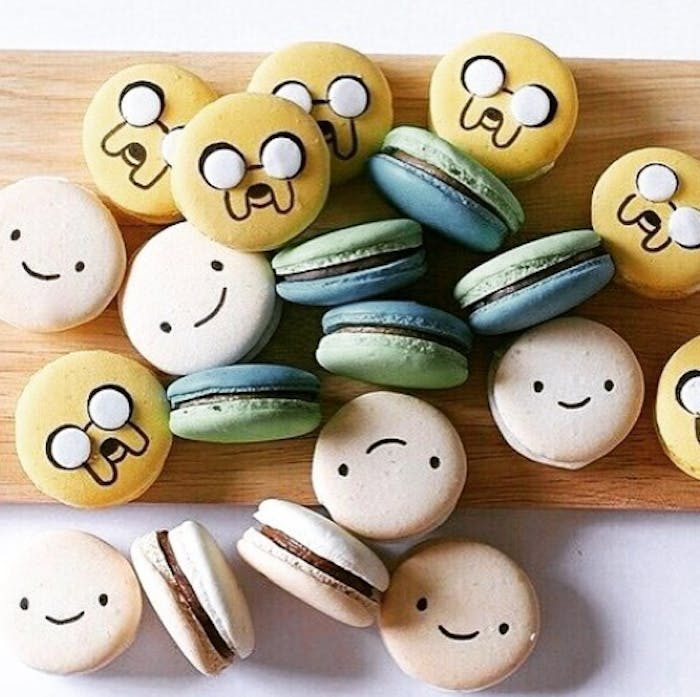 Finn and Jake Adventure Time macaroons