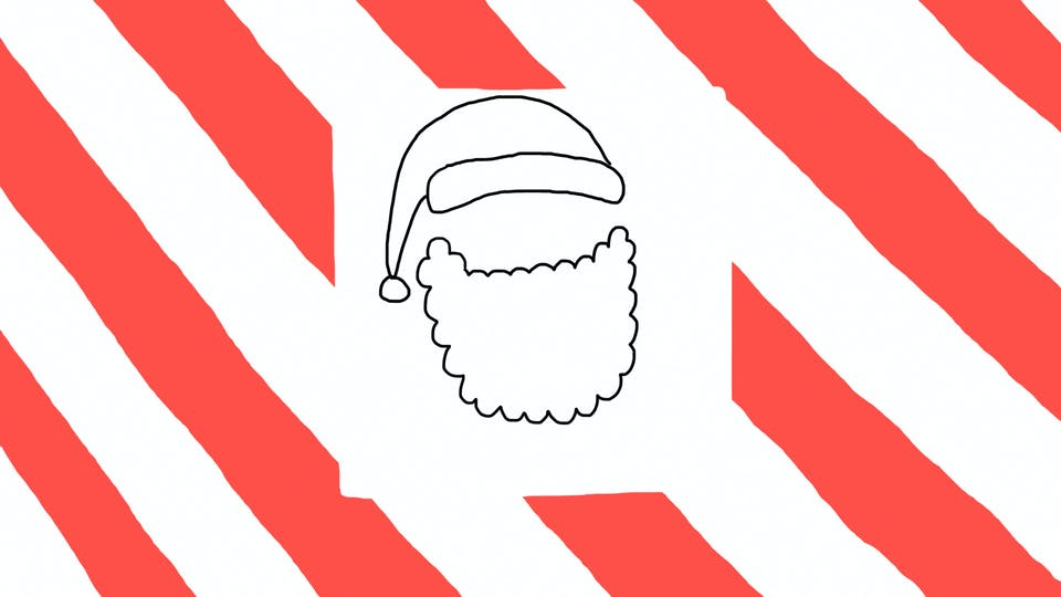 How To Draw Santa Step By Step Drawing Beanocom