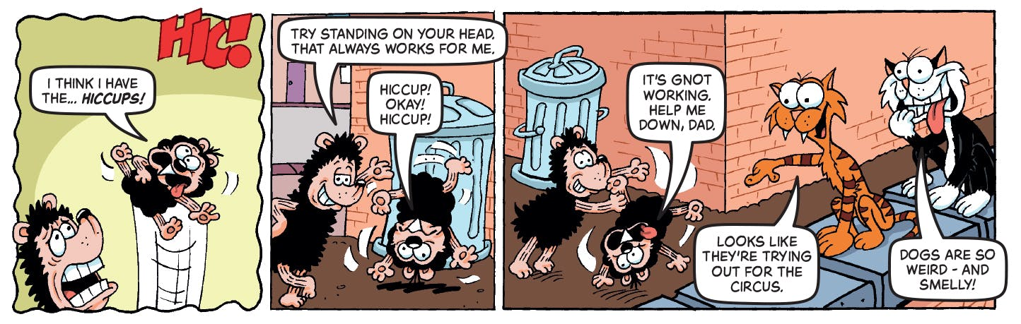 Inside Beano 3981 - Gnasher and Gnipper