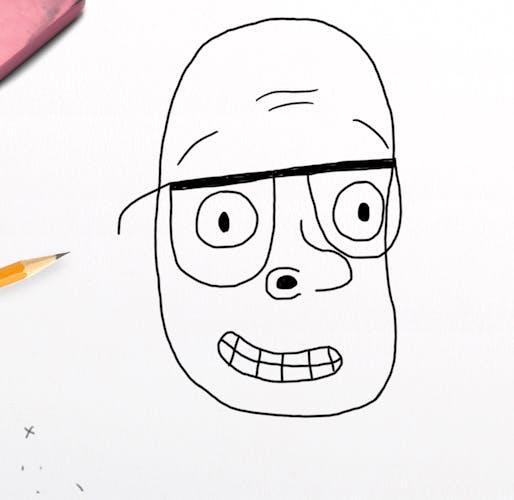 Harry Hill's head