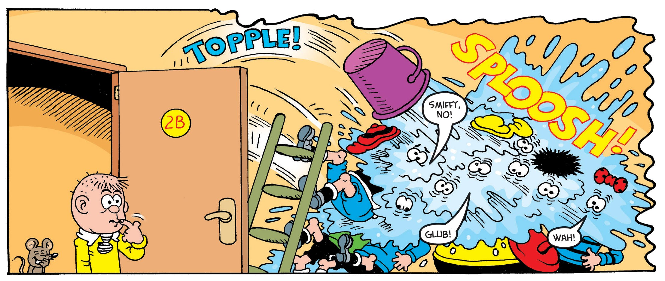 Bash Street Kids don't quite pull off a prank