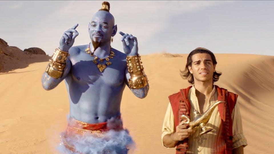 A scene from Aladdin (2019)